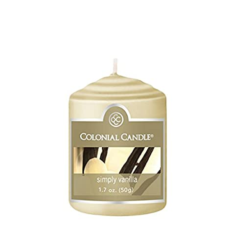Amazon.com: Votive Candle by Colonial Candles (18, Simply Vanilla): Home & Kitchen