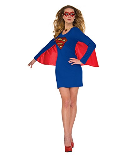 Supergirl Costumes Sexy (Rubie's Women's Dress, Supergirl, Small-Medium)