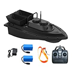 TheMeknic Fishing Bait Boatis designed with twin motors, two separate sockets, capable of independent operation and carrying capacity of about 2kg.Remote control can be achieved without blocking 500m/1640ft range ,No longer bound by lines,F...