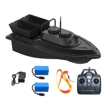 Image of Meknic RC Fishing Bait Boat, 2020 Update 2kg Loading 2pcs Tanks and 2pcs Batteries with Double Motors Fish Bait Boat, 500M/1640FT Remote Control Bait Boat Fishing(Fishing Bait Boat) Attractants