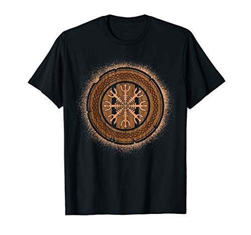 , Norse Mythology Helm of Awe T-Shirt