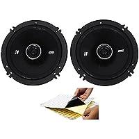 (2) Kicker 43DSC6504 DSC650 6.5 240w 2-Way Car Stereo Speakers DS650 + Rockmat