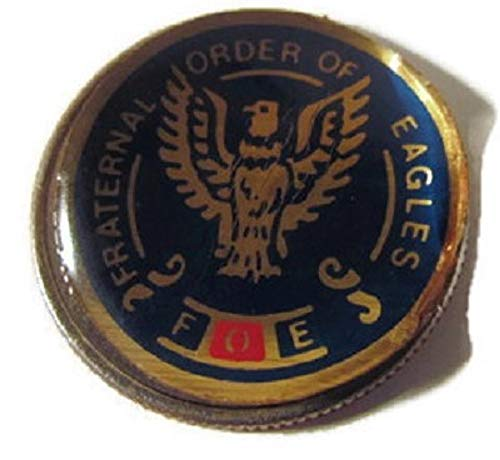 Eagle 1776 - FOE FRATERNAL ORDER OF EAGLES LOGO GOLF 1776-1976 GOOD LUCK LUCKY QUARTER CHALLENGE BIRTHDAY COIN