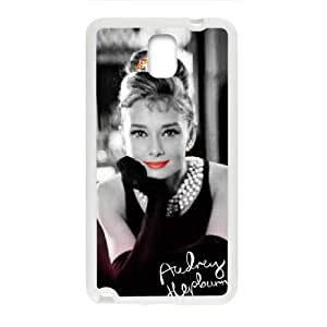 SANLSI Audrey Hepburn Cell Phone Case for Samsung Galaxy Note3