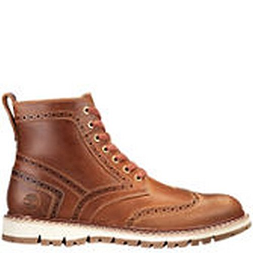 tton Hill Brogue Boot (9.5 D(M) US, Medium Brown Full Grain) (Brogue Shoe Boot)