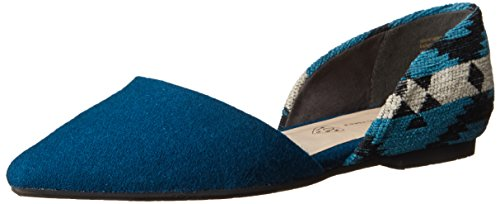 Flat BC Footwear Ballet Blue Exotic Society Women's xXfnTU4