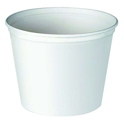 Solo 5T3-N0196 83 oz White Paper Bucket (Case of 100)