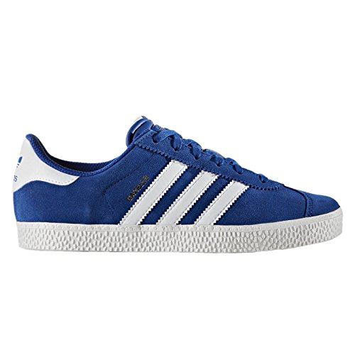 adidas Youths Gazelle 2.0 Blue Suede Trainers 5 US ()