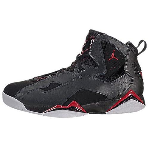 Jordan Mens Jordan True Flight Basketball Shoes, Black, 11 M Us