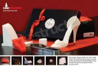 5 quot high heel shoe kit for gumpaste fondant import it all