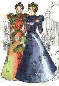 (1897 Circular Skirt Pattern)