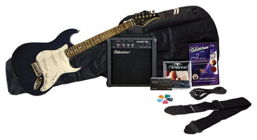 Silvertone SS11 Guitar & Amp Package, Cobalt Blue -  0079253395268