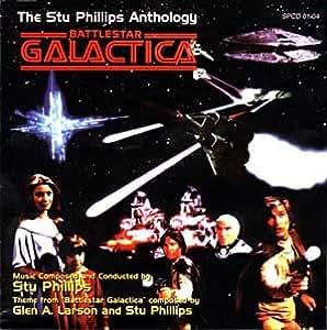 Battlestar Galactica The Stu Phillips Anthology 4 Cd Set