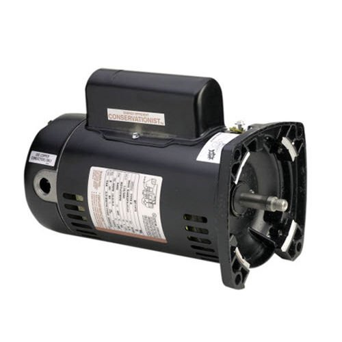 A.O. Smith UQC1072 0.75HP 115 / 230V Square Flange 48Y Pool Motor - 48y Square Flange