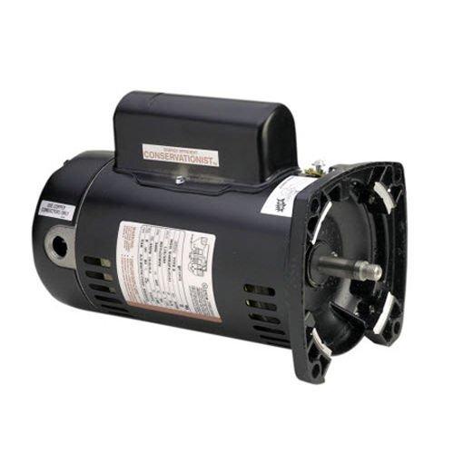 Pump Motor, 1 1/2 HP, 3450, 115/230 V, 48Y by AO Smith