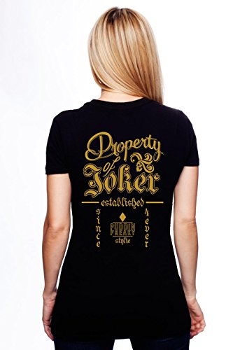 New Logo Property of Joker Back T Shirt L