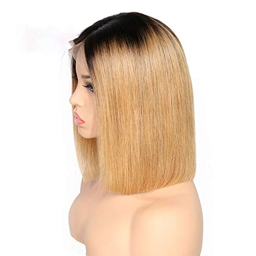 Newmarket Jacket (Straight Short Bob Wigs Lace Front Human Hair Wigs For Black Women Pre Plucked Brazilian Remy)