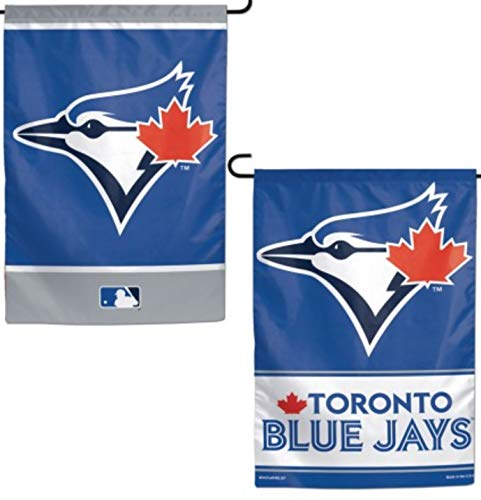 Stockdale Toronto Blue Jays WC Garden Flag Premium 2-Sided Outdoor House Banner Baseball