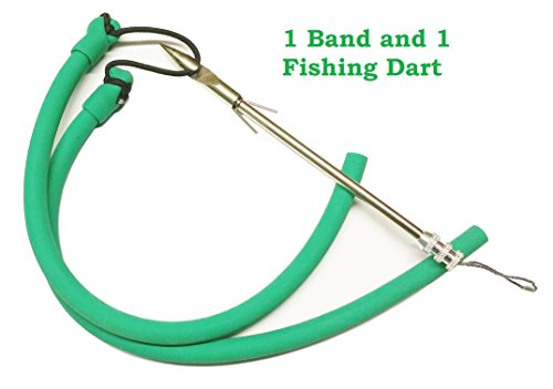 (Epic Gear Universal Heavy Pull Slingshot Replacement Band with Fishing Dart (1))