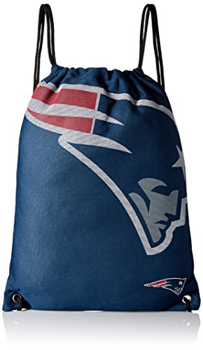 NFL New England Patriots 2015 Jersey Drawstring Backpack, Blue