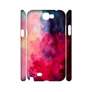 Personalized Protective Hard 3D Plastic Case for Samsung Galaxy Note 2 N7100 - Painted Clouds custom 3D case at CHXTT-C