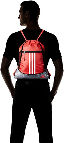 Red adidas Heather Shock Grey Sackpack White Alliance Clear II qqxp1U
