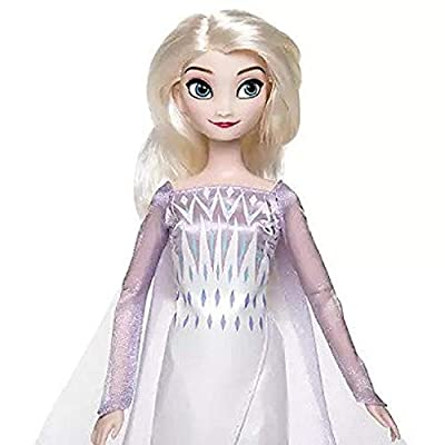 Shop Disney Queen Anna and Snow Queen Elsa Classic Doll Set ��� Frozen 2 ��� 11 1/2'' H: Toys & Games