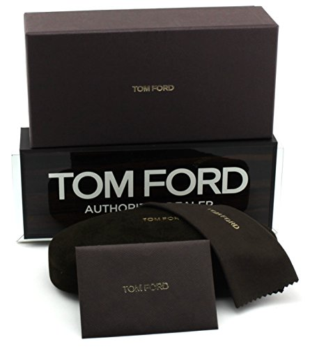 New Original Tom Ford Sunglasses Eyeglasses Case (Small, Brown)