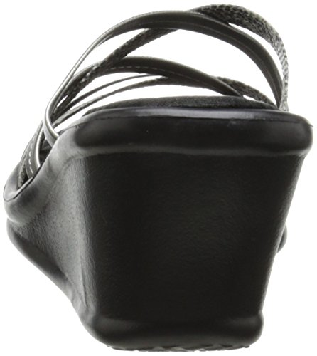 Wild Damen Rumblers Plateau Child Skechers Sandalen Gunmetal Durchgängies 5qtSUS7c1