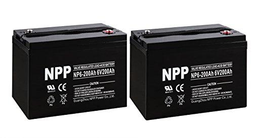 6v rv battery - 6