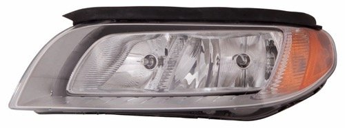 Go-Parts OE Replacement for 2008-2012 Volvo S80 Front Headlight Headlamp Assembly Front Housing/Lens / Cover - Left (Driver) Side 31214355-5 VO2502123 for Volvo ()