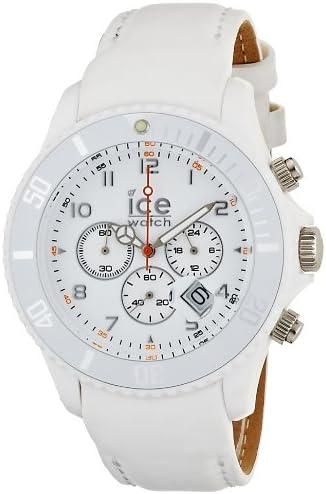 Ice-Watch – Ice-Chrono Matte – Big 48 – White – Leather