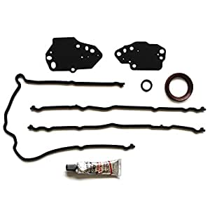 ECCPP Replacement for Valve Cover Gasket Set 2004-2006 Ford F-150 Mustang Lincoln Mark Mercury Mountaineer 4.6L 5.4L Valve Covers Gaskets