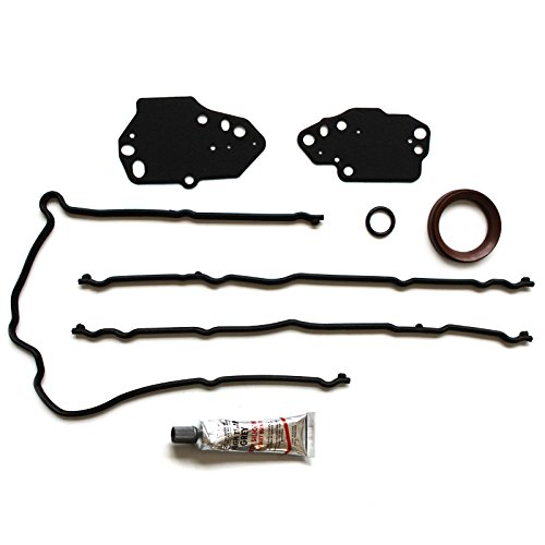 ECCPP for Timing Cover Gasket Set Fit 04 05 06 07 08 09 10 11 12 Ford Expedition F-150 F-250 F-350 Super Duty Lincoln Mark LT Lincoln Navigator 5.4L Timing Cover Gaskets Kit