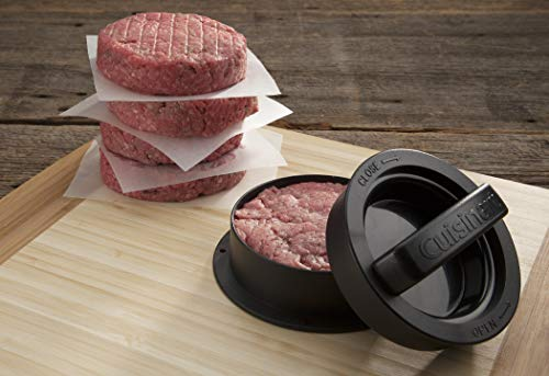33% savings on a Cuisinart burger press