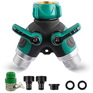 Automatic Garden Watering Set Drip Irrigation Kits SuperCS Solar Garden Irrigation System with Digital Timer