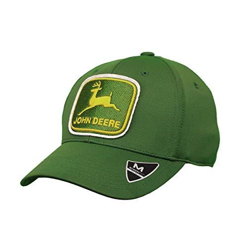 - John Deere Memory Fit - Vintage Cap-Jd Green-Os