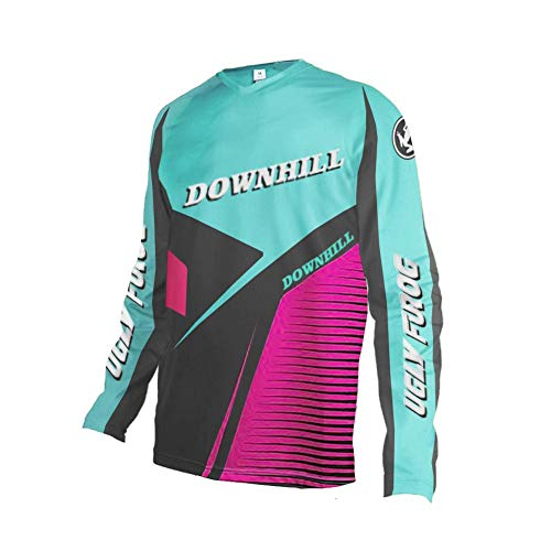 (Uglyfrog Downhill Jersey Winter Thermal Fleece Men's Cycling Jersey Long Sleeves Bike Shirt Cycling Jacket Riding Long Sleeve)