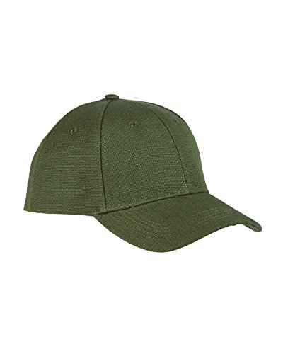 Hemp Baseball Hat - A Product of econscious 6.8 oz. Hemp Baseball Cap -Bulk Saving Olive