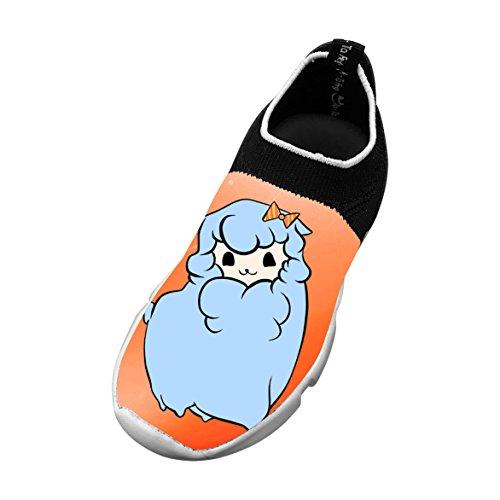 Alpaca Baby 3D Printing Children's Slip-on Flyknit Outdoor Sport Shoes