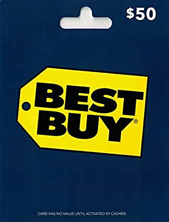Amazon.com: Best Buy Gift Card $50: Gift Cards