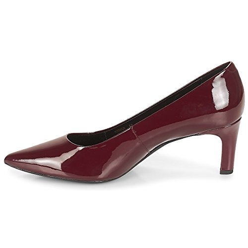 a Geox WoMen C7005 Closed Toe Bordeaux Red Pumps D Bibbiana ftvwqdPt
