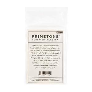 Dunlop Primetone Standard .73mm Sculpted Plectra (Grip) - 3 Pack