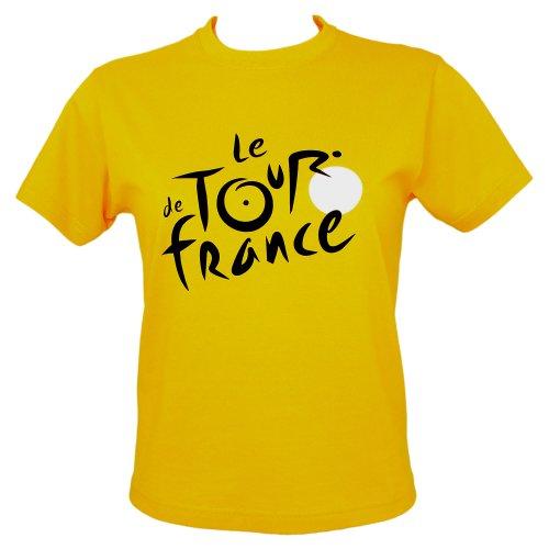 Le Tour de France - Official Tour de France 'Yellow Jersey' T-Shirt - Size : M - Color : Yellow