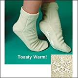 Fleece Gripper Socks - Medium