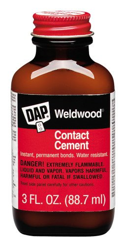 - DAP 00107 Weldwood Original Contact Cement,3 oz