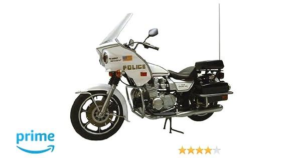 Amazon Com Aoshima Models Aos 003404 Kawasaki Police 1000 Cowling