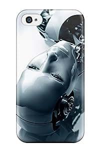 Fashion EeBgATc9073OiGww Case Cover For Iphone 4/4s(humanoid Robot)
