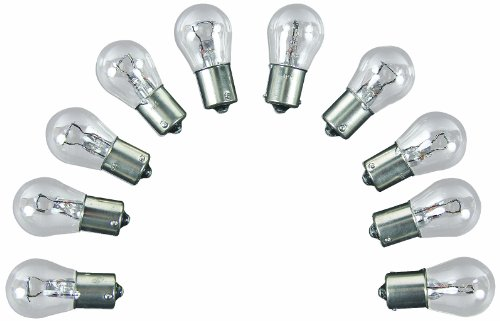 (Camco 54802 Replacement 1156 Auto Back Up Light Bulb - Box of 10)