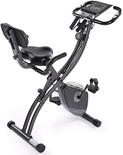 MaxKare Exercise Bike Stationary Foldable Magnetic Upright Recumbent Cycling 3